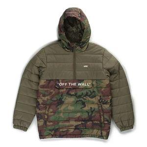 NWT Vans Carlon Camouflage Puffer Winter Coat